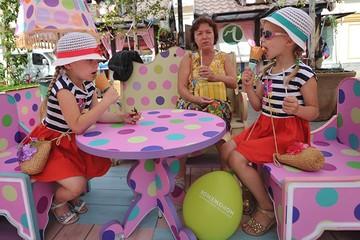 Мороженое с золотом - на Тверской площади, а для похудения - на площади Революции