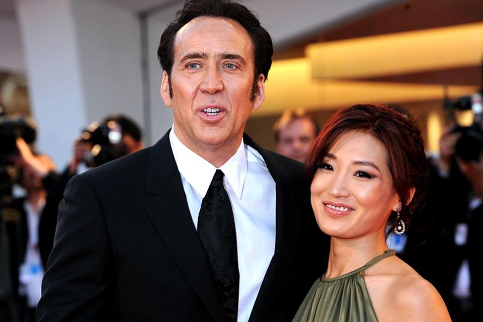 Николас Кейдж развелся с женой после 11 лет брака новые фото