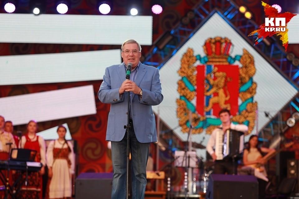 Виктор Толоконский: «Мир Сибири» скоро придется проводить два раза в год»