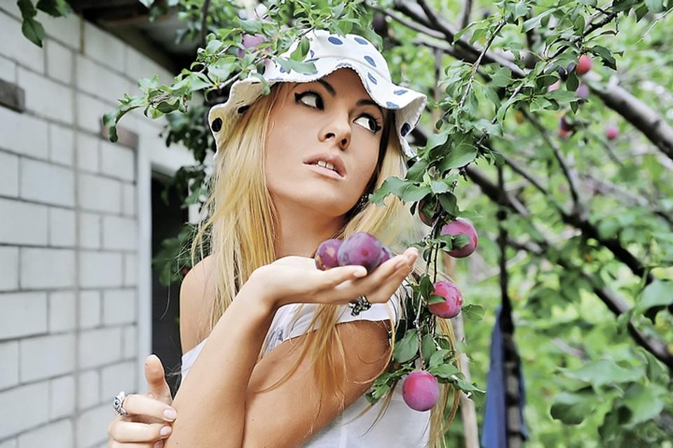 Плоды сливы подходят и для варенья, и для компота, и для сушки. И даже - для дачного фото!