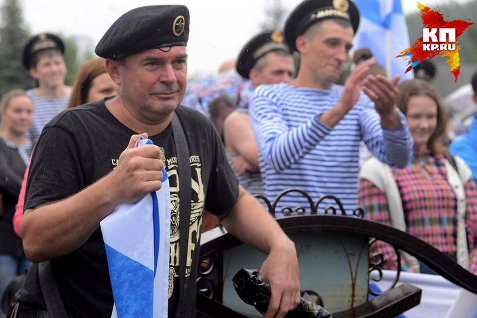 Моряки празднуют свой праздник в последнее воскресенье июля