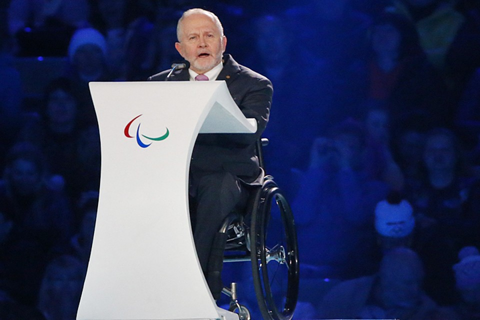 Это строгое и безжалостное по отношению к нашим спортсменам озвучил лично президент МПК Филипп Крейвен