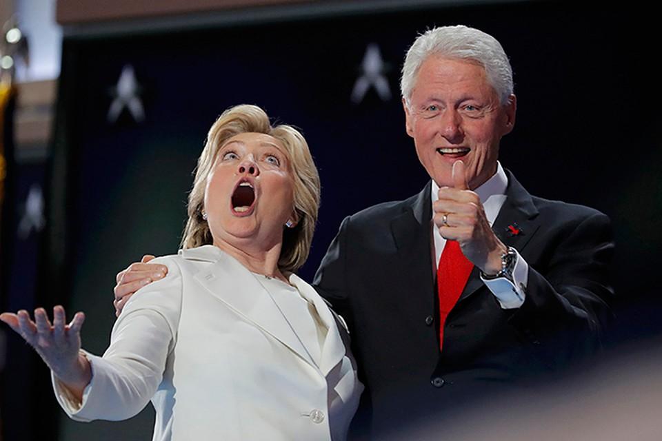 Темп разоблачений семьи Клинтон нарастает