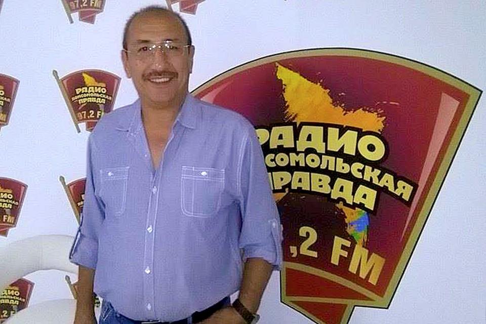 Известный шеф-повар, эксперт в области узбекской кухни и блогер Хаким Ганиев в гостях у Радио «Комсомольская правда»