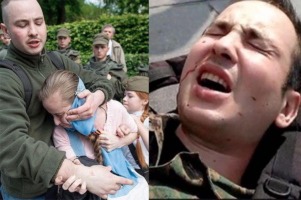Виталий Регор - это и есть напавший на девочку в Киеве внук эсэсовца. Фото: Alexey Furman/Anadolu Agency/Getty Images и Facebook