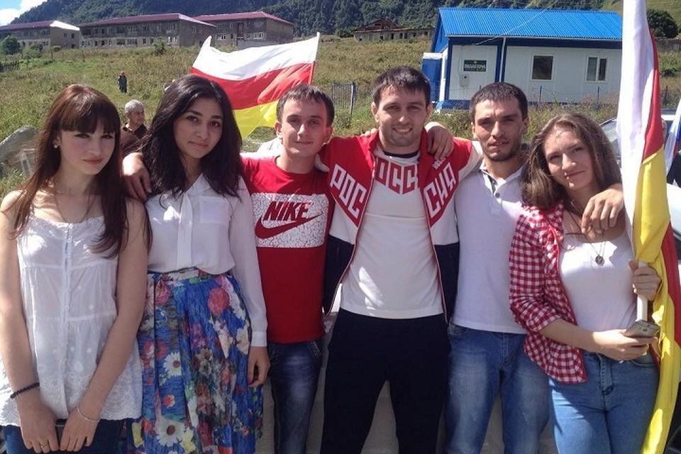 Сослан Рамонов в Южной Осетии. Фото: Instagram