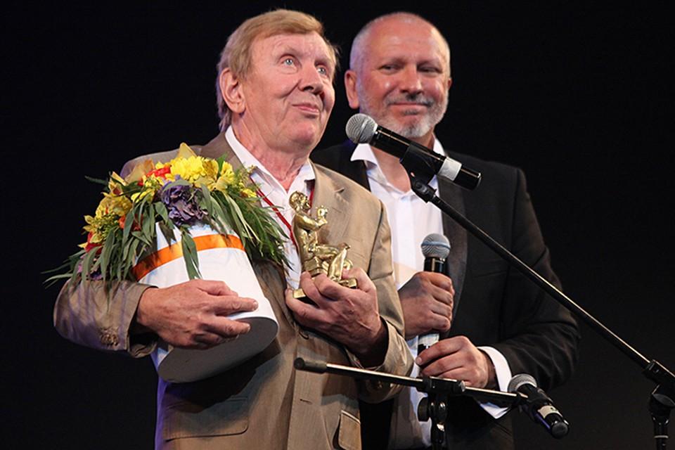 Юрий Чернов был удостоен приза имени Леонида Гайдая - «За вклад в комедию»