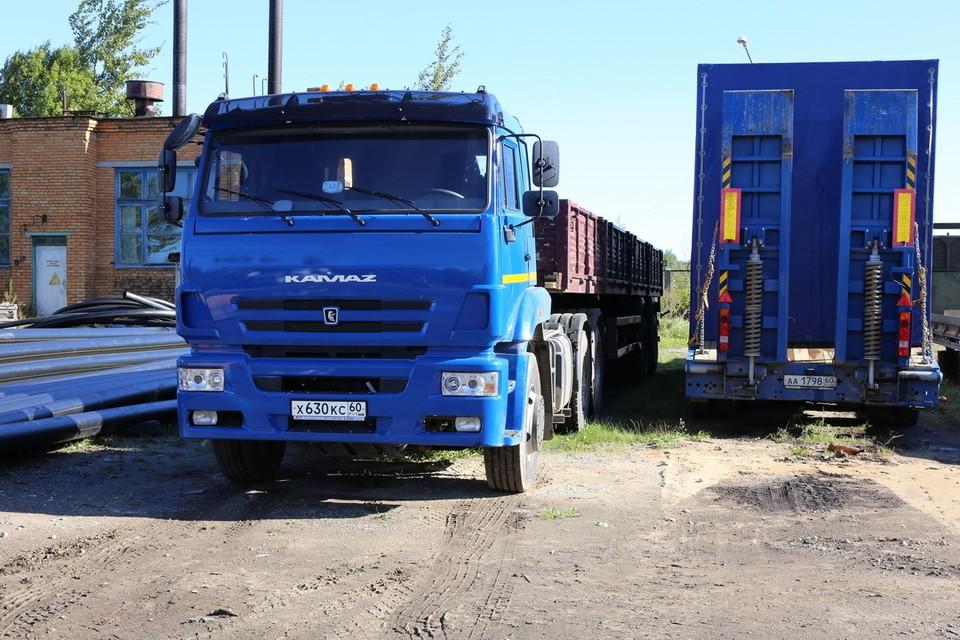 Новая авто- и спецтехника поможет в работе специалистам «Газпром газораспределение Псков».