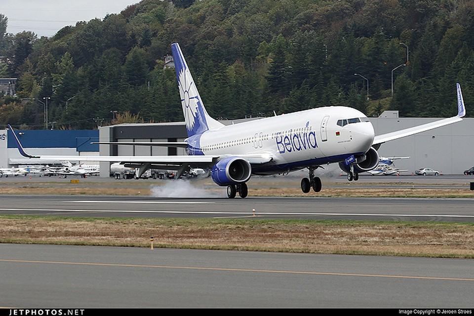 Авиаскандал между Украиной а Беларусью набирает обороты. Фото: Jeroen Stroes (jetphotos.net)