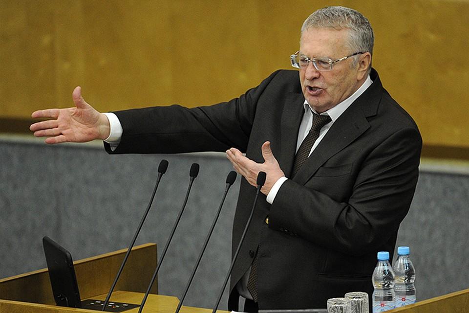 Жириновский предложил ускорить выдачу гражданства этническим русским