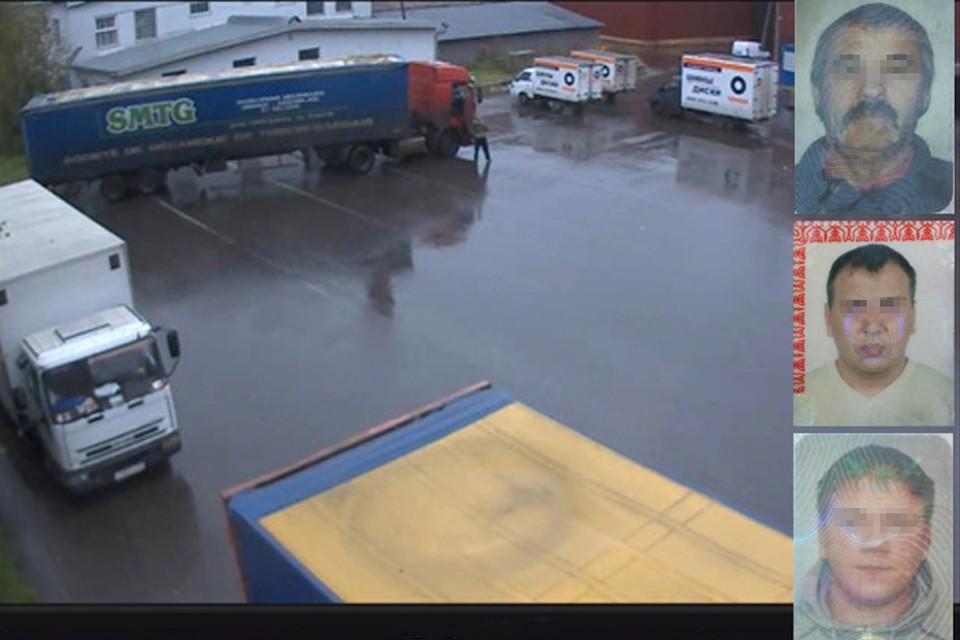 Трое дальнобойщиков были пойманы под Новосибирском во время перевозки очередного ворованного груза. Фото: предоставлено правоохранительными органами