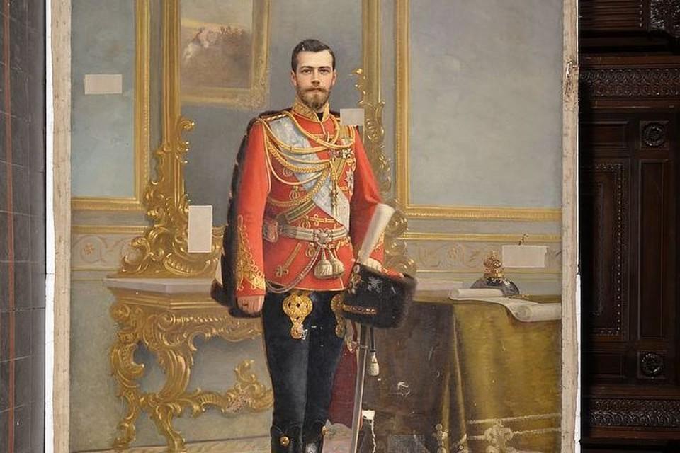 Портрет Николая скрывался за Лениным почти век ФОТО: пресс-служба Академии имени Штиглица