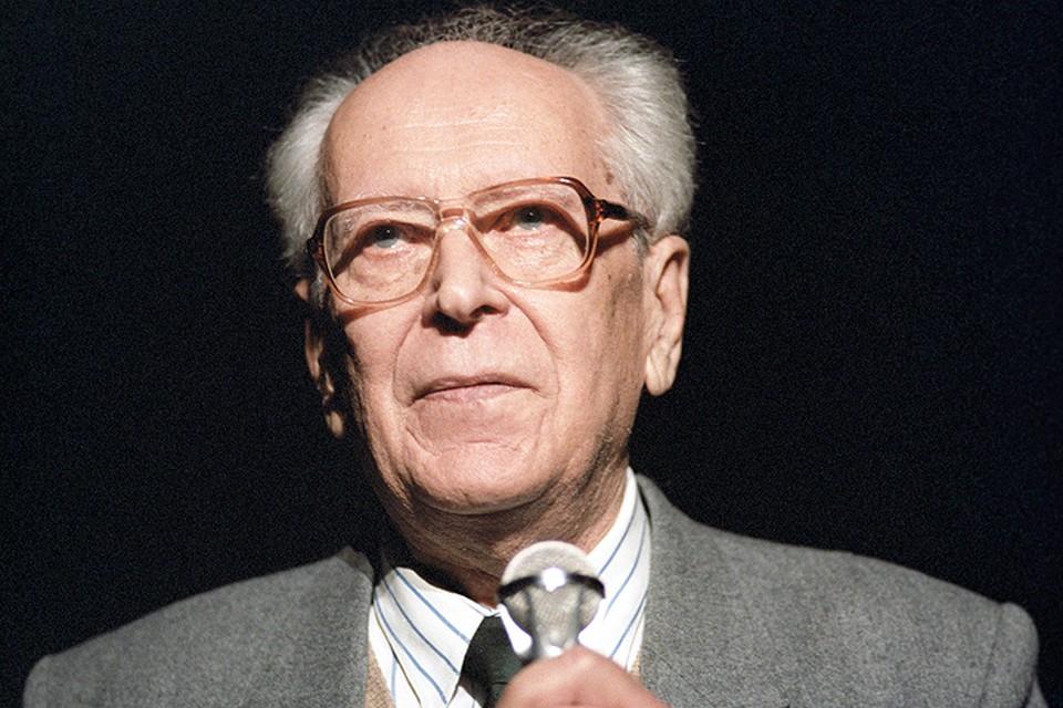 Академик Дмитрий Лихачев в 1987 году. Фото Романа Денисова /Фотохроника ТАСС/