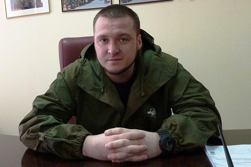 Сергей Завдовеев командир батальона Легион один из легендарных защитников Донбасса