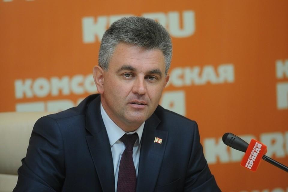 Спикер приднестровского Верховного совета набрал 69,8% голосов избирателей.