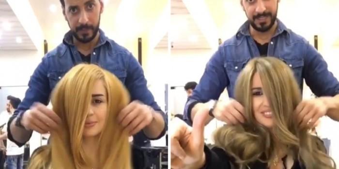 Nutella не только окрашивает волосы, но и ухаживает за ними. Фото: стоп-кадр из видеоролика в Инстаграме