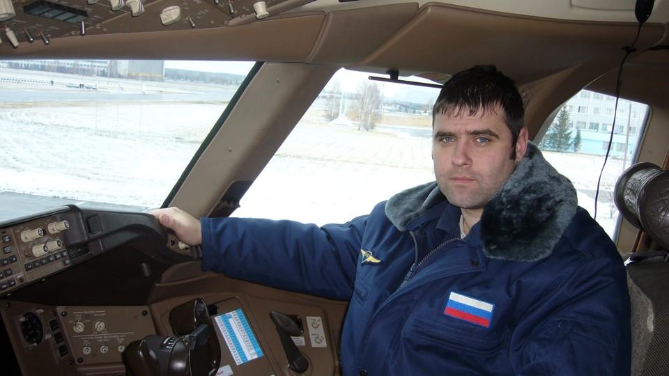 Фото: с личной страницы пилота в Вконтакте.