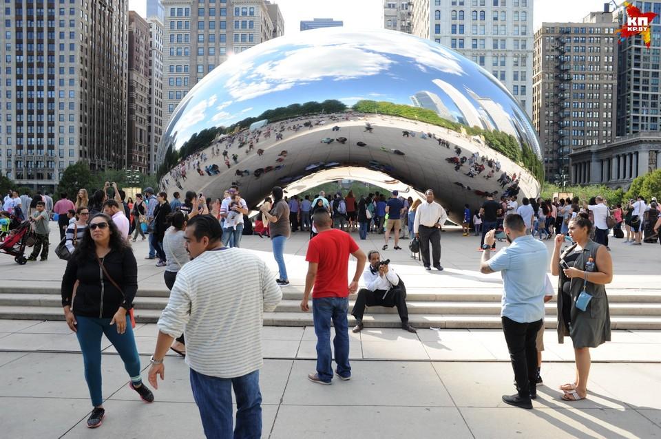 Один из самых известных символов города - «Чикагский Боб».