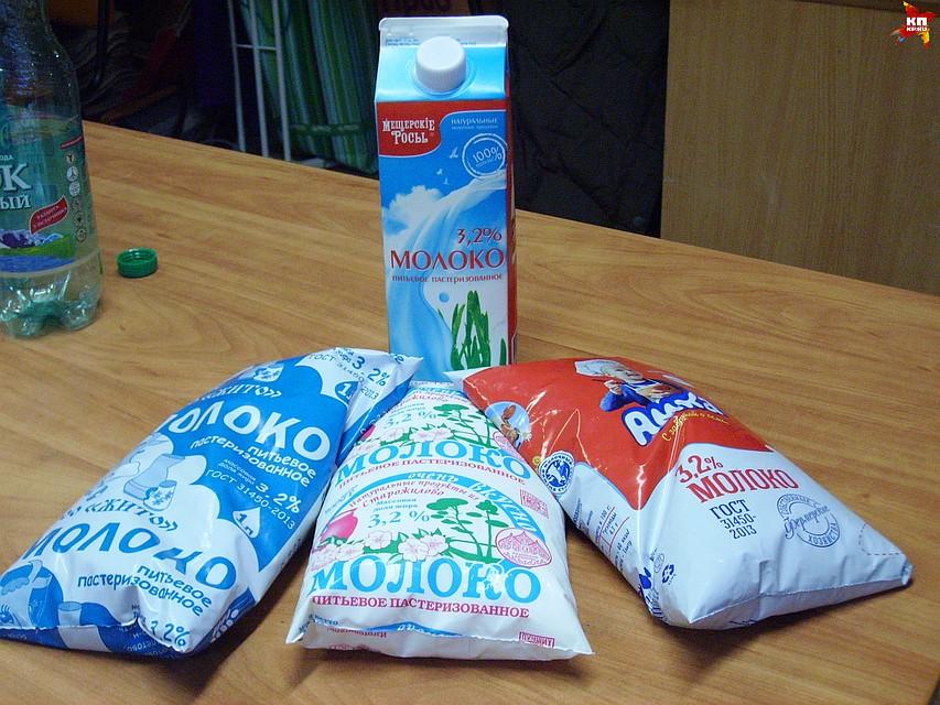 Почему рязанское молоко не разлагается  Для экспертизы мы отобрали молоко четырех рязанских производителей