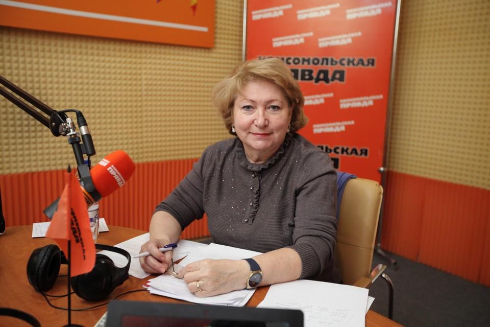 Уполномоченный при губернаторе Ставропольского края по правам ребёнка Светлана Адаменко