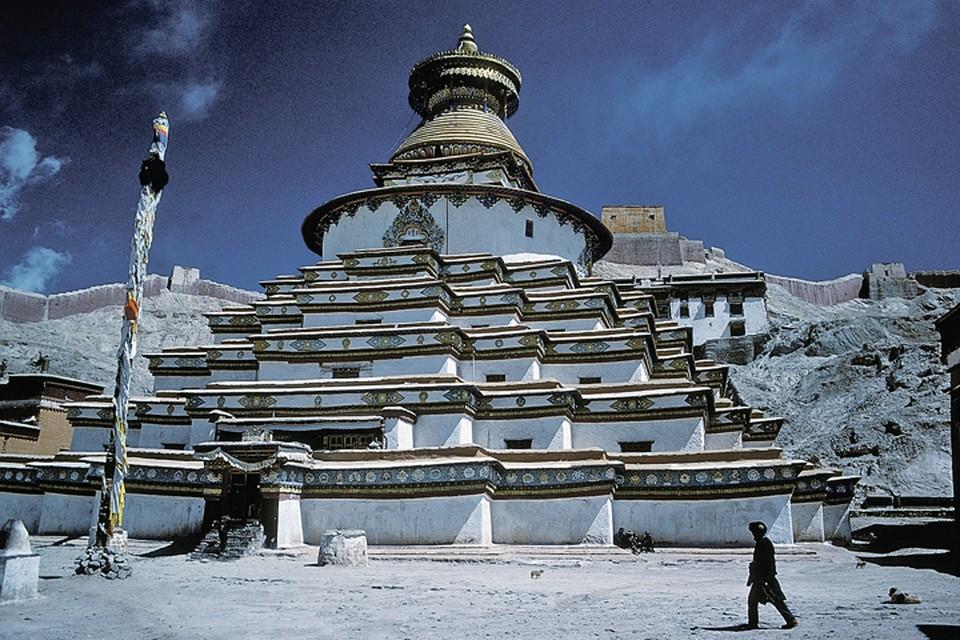 Старинный тибетский монастырь Кумбум до сих пор хранит немало тайн.