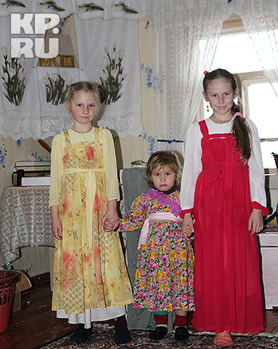 Переехав в Россию семья староверов не изменяет характерному стилю