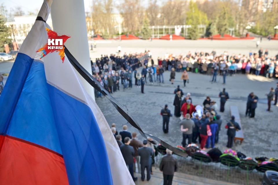 В Сызрани объявили траур по убитому полковнику полиции
