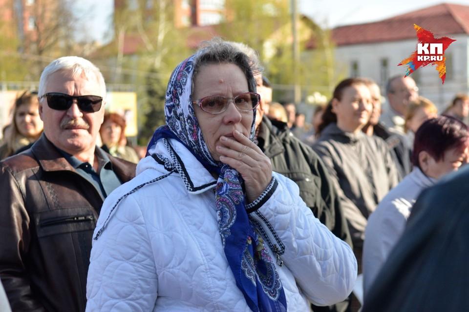 Церемония прощания с Андреем Гоштом в Сызрани