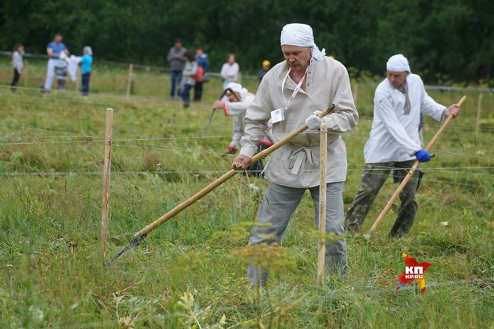 Традиционный турнир косарей в п.Арти