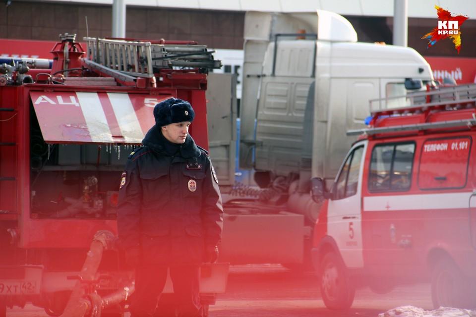 """Последствия пожара в ТЦ """"Зимняя вишня"""" в Кемерово"""