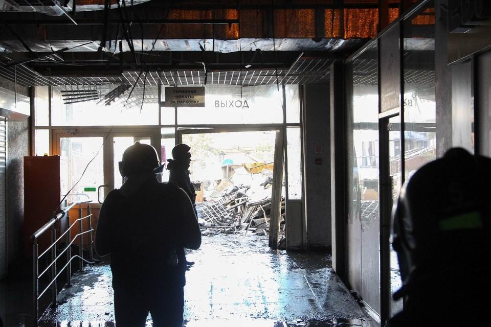 """Как выглядит ТРЦ """"Зимняя вишня"""" после пожара"""