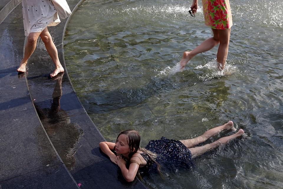 В США установилась аномальная жара. Температура воздуха на большей части территории страны достигает от 32 до 38 градуса Цельсия
