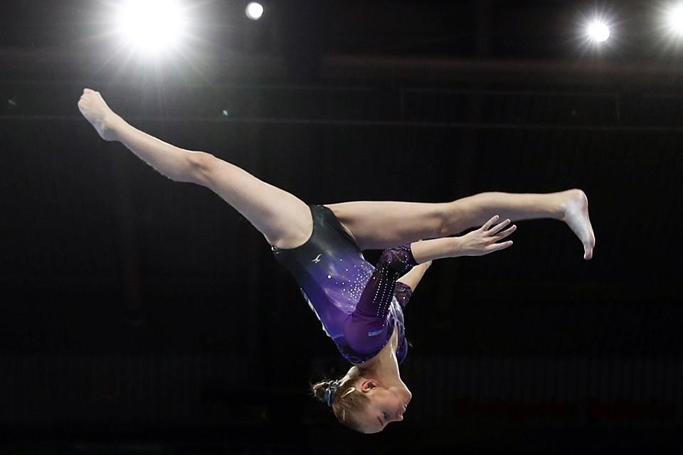 Женская сборная России по спортивной гимнастике завоевала серебряную медаль в командном турнире на Чемпионате мира-2019 в Штутгарте