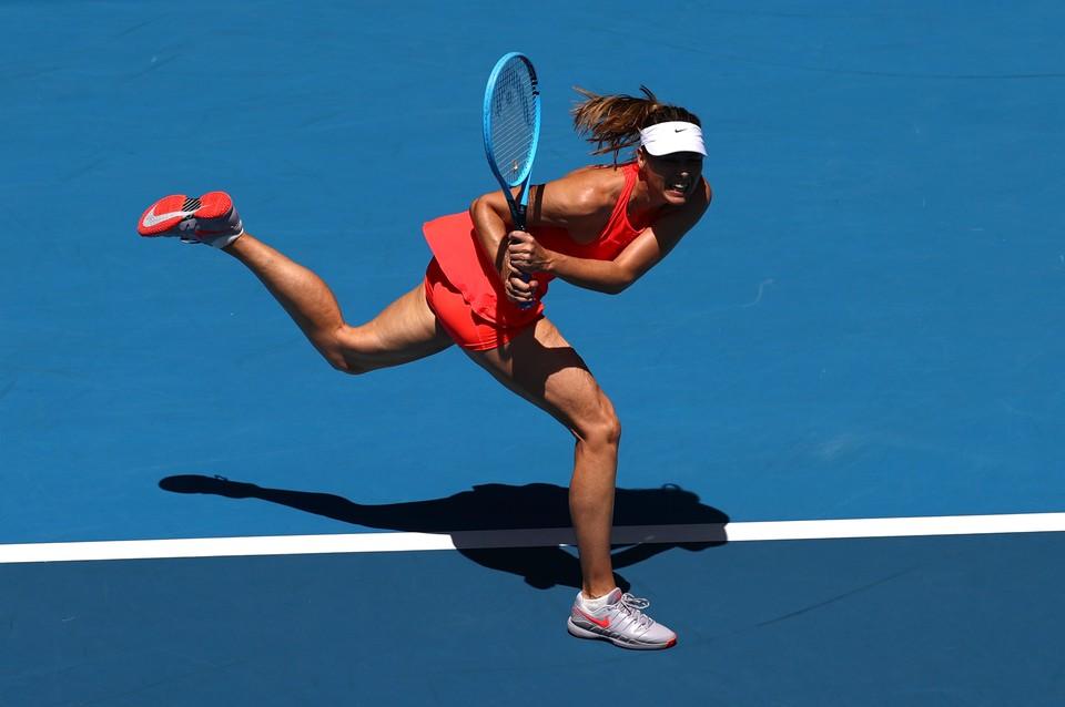 Мария Шарапова потерпела поражение в первом круге Открытого чемпионата Австралии по теннису.