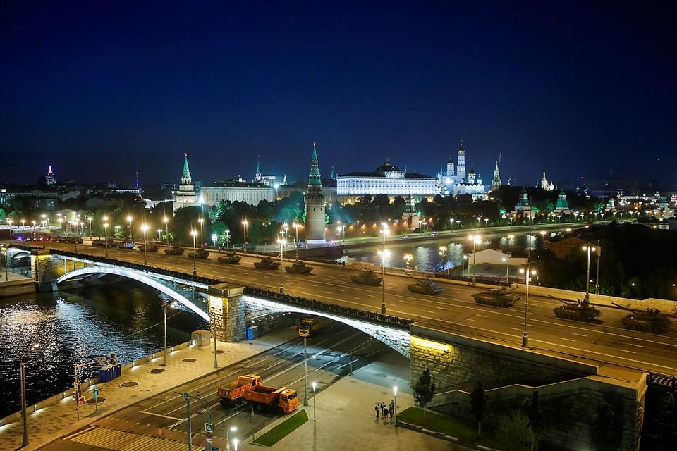 Москва готовится к проведению Парада Победы