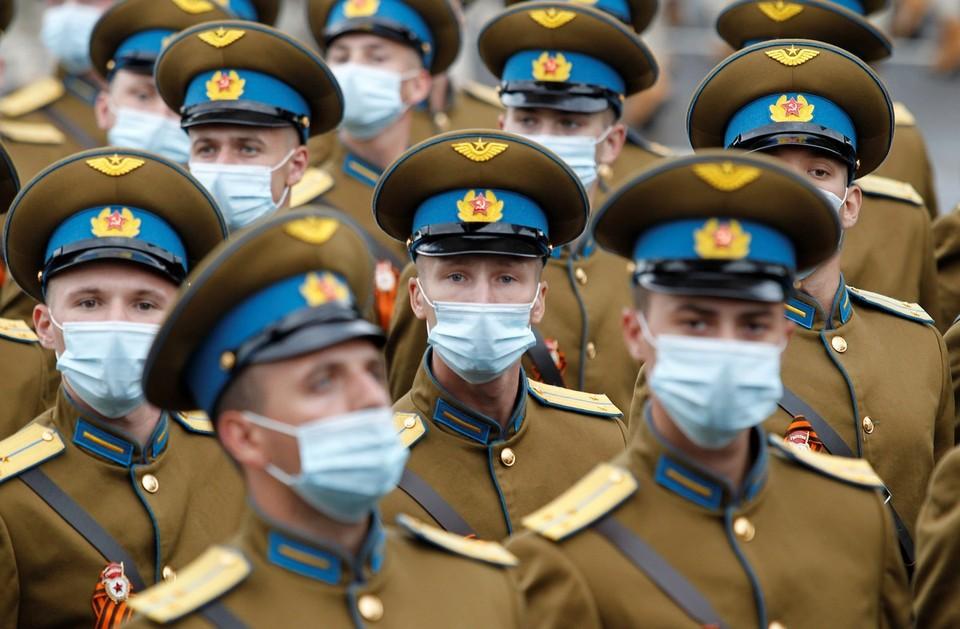 В Донецке прошла генеральная репетиция Парада Победы в Великой Отечественной войне.
