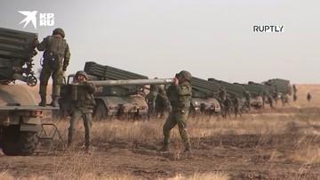 «Торнадо-Г» уничтожили условного противника на учениях «Кавказ - 2020»