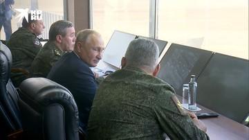 Путин посетил международные учения «Кавказ-2020» под Астраханью