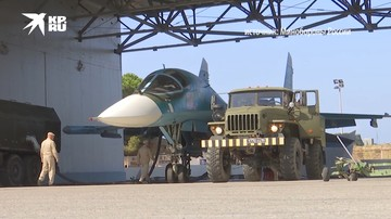 Российская авиабаза Хмеймим в Сирии