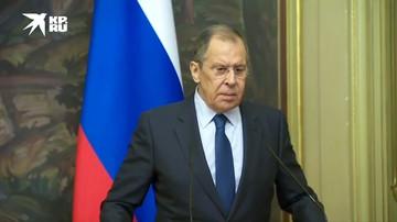 Лавров: «Москва надеется на скорое создание механизмов контроля за соблюдением режима прекращения огня»