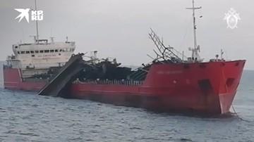 СК возбудил уголовное дело после пожара на танкере «Генерал Ази Асланов»