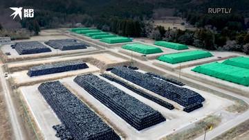Япония: горы радиоактивной почвы усеивают территорию Фукусимы
