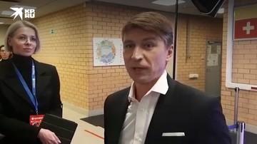 Алексей Ягудин после ледового шоу Ильи Авербуха
