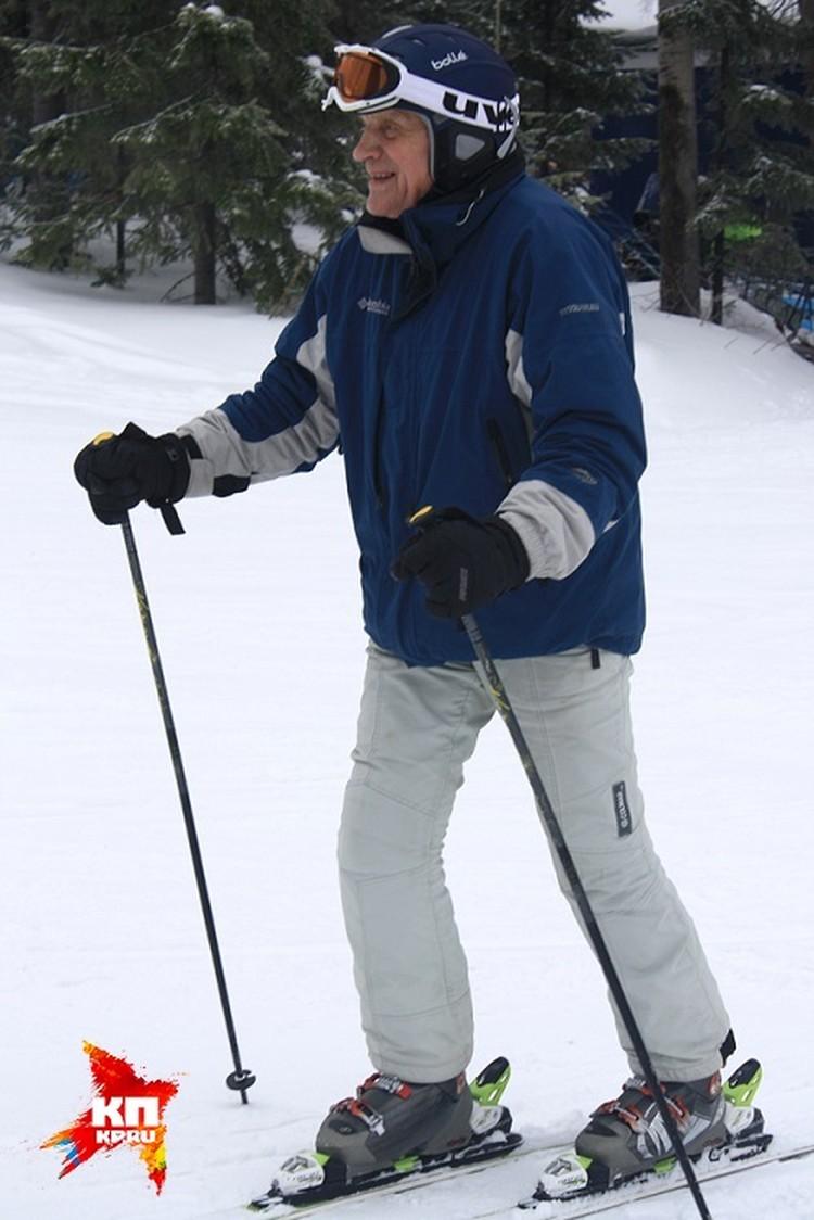 Владислав Тетюхин очень любит горнолыжный спорт