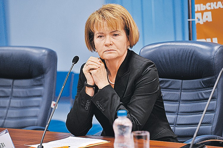 Замдиректора РАО Екатерина Ананьева.