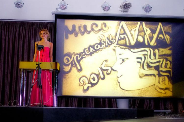 Талантливый номер от 22-летней Анастасии Чащиной