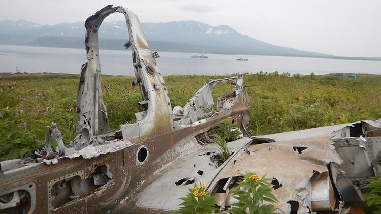 Все, что осталось от самолетов японских камикадзе. Фото: Илья Прокофьев