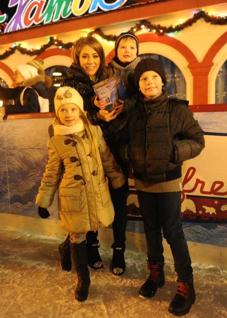 У Аршавина и Барановской трое детей.