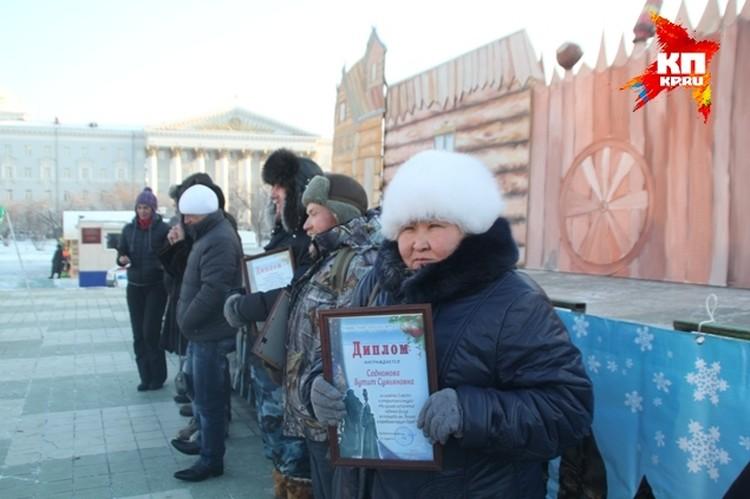 Бутит Содномова, автор скульптуры, не дожившей до наших дней