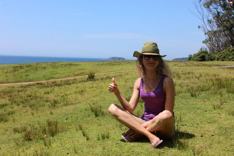 А это недалеко от пляжа Саус Дуррас, недалеко от Канберры. Красота! Фото: автора.